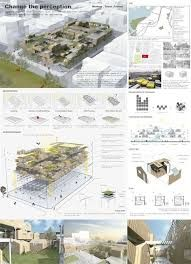 I wish this board had less hard edges and blended the drawings better. 10 Tips for Creating Stunning Architecture Project Presentation. (2017, December 10). Retrieved April 13, 2018, from https://www.arch2o.com/tips-architecture-project-presentation/