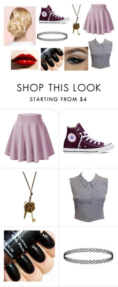 """Youtube rp"" by dawnlions on Polyvore featuring Converse, Chanel, women's clothing, women, female, woman, misses and juniors"