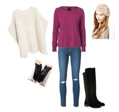 """#46"" by snows22 on Polyvore featuring moda, Paige Denim, SELECTED, MANGO, Carvela Kurt Geiger e Ganni"