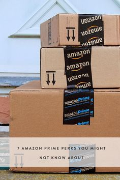 7 Amazon Prime Benefits You Might Not Know About Saving Tips, Saving Money, Making Life Easier, Shopping Hacks, Store Hacks, Good Advice, Things To Know, Check It Out, Have Time