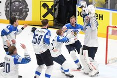 Finland's Lions claim ice hockey world championship Hockey World, Ice Hockey Teams, Manet, Bratislava, World Championship, Finland, Nhl, Lions, Cool Pictures