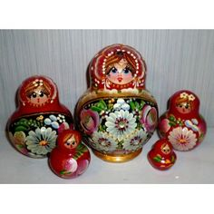 Kalina #Babushka #russiandoll #matryoshka #dollsindolls #decor #traditional