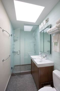 small contemporary bathrooms | Clean Small Modern Bathroom Designs : Spacious Small Modern Bathroom ...