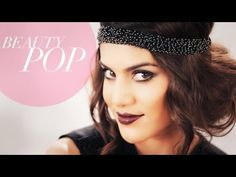 Great Gatsby Inspired 1920s Flapper Makeup Full Look - Beauty Pop! with Camila Coelho - YouTube  LOVE this look! Trying it soon!