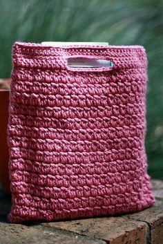 I really like this bag...  its called Starling and Cluster crochet tote