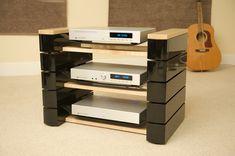 HiFi rack produced for TASS uk.