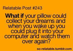 Dream catching pillows
