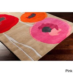 Hand-tufted Floral Rug (5' x 8')   Overstock.com Shopping - The Best Deals on 5x8 - 6x9 Rugs
