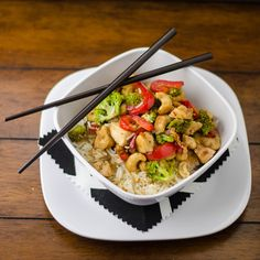 For a Chinese restaurant-inspired recipe with extra flair, be sure to give this homemade Cashew Chicken a try.