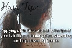 hair tip central! masks, treatments, food to eat, etc for shine, repair, split ends and more