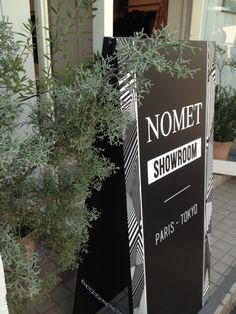 AW2016 Men & Women - NOMET SHOWROOM - Omotesando #nometshowroom