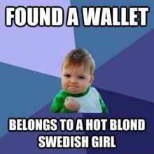Found a Wallet