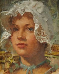 Meadow Gist | American Impressionist painter and illustrator