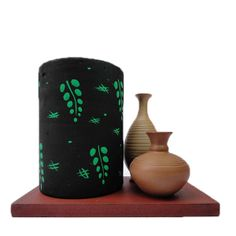 Penstand with Pots Candle Stand, Clay Animals, Online Gifts, Corporate Gifts, Lampshades, Flower Vases, Diwali, Terracotta, Pots