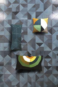 Multiplem nerosicilia #etnalavastone #surfaces #colorfield celeste
