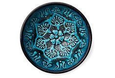 S/3 Hand-Painted Turkish Bowls, Turquoise on OneKingsLane.com
