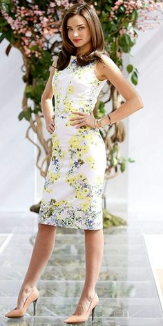 Miranda Kerr floral
