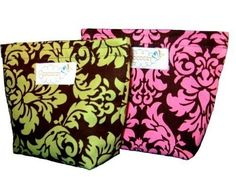 Reusable Snack Bags Set of 2  Classy Lassy by CoozyCo on Etsy, $12.00