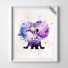 Purple Minion, Despicable Me Print