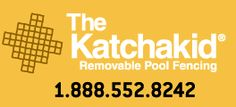 Katchakid Removable Pool Fencing 1.888.552.8242