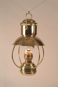 Vintage Rare Ankerlicht Copper Nautical Lamp Vintage