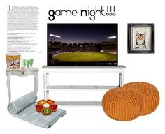 Game night by neststylist on Polyvore featuring polyvore, interior, interiors, interior design, home, home decor, interior decorating, Picnic at Ascot and Balmain