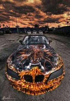 BMW Halloween Make-up – Ryoal Styling Autos ! – Autolacke – BMW Halloween Make-up – Ryoal Styling Autos ! Luxury Sports Cars, Exotic Sports Cars, Cool Sports Cars, Super Sport Cars, Custom Muscle Cars, Custom Cars, Car Paint Jobs, Bmw Autos, Lamborghini Cars