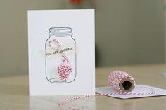 DIY crocheted heart embellished cards | yourwishcake.com
