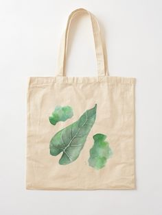 """""""Sommeredition   Tropische Blätter"""" Stofftasche von archmar   Redbubble Reusable Tote Bags, My Favorite Things, Masks, Tropical Leaves, Summer Recipes, Bags"""