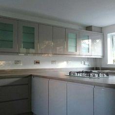 Light Grey Kitchens, Kitchen Cupboards, Colour Schemes, Kitchen Design, Layout, Gallery, Modern, Inspiration, Home Decor