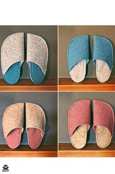 [orginial_title] – MadeByBears Slippers for autumn and winter Hygge house slippers for your home. Decorate your home with fall colors. Cosy Decor, Cosy House, Bedroom Slippers, Natural Rubber Latex, Kindle Case, Cosy Corner, Felted Slippers, Autumn Home, Customized Gifts