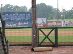 """Huntingburg City Park, Indiana - Home of historic League Stadium. We know that League Stadium was renovated in 1991 by Columbia Pictures to serve as the set for many scenes from the 1992 movie """"A League of Their Own."""""""