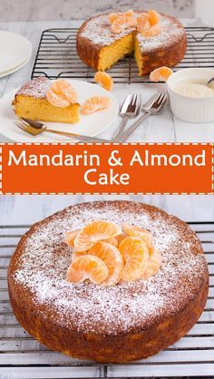 Mandarin & Almond Cake is part of Almond cakes Citrus cakes are a favourite in our house They are usually very moist and typically the oranges or lemons that are added are bursting with flavour - Mandarin And Almond Cake, Mandarin Cake, Almond Recipes, Baking Recipes, Dessert Recipes, Gluten Free Cakes, Gluten Free Desserts, Gluten Free Almond Cake, Gourmet Desserts