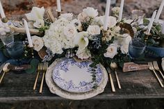 Place setting | Wedding & Party Ideas | 100 Layer Cake
