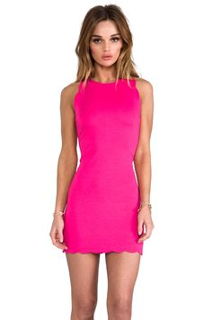 For Love & Lemons x REVOLVE Rosarito Dress in Hot Pink from REVOLVEclothing - needed this dress bad!