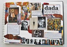 50 Ideas Gcse Art Sketchbook Layout Artists For 2019 A Level Art Sketchbook Layout, Gcse Art Sketchbook, Sketchbook Ideas, Dada Art, Art Alevel, Photography Sketchbook, Art Diary, Art Studies, Grafik Design