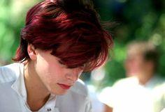 Oh my gosh....look at his hair.....love it.....John Taylor, Duran Duran