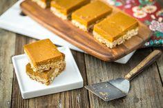 Oatmeal Pumpkin Pie Bars