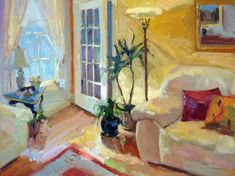 Interior landscape by Jeanette Le Grue