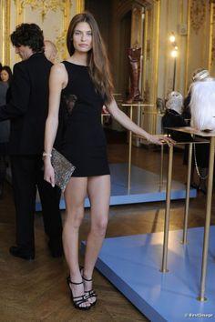 Bianca Balti - Brunette - Long hair