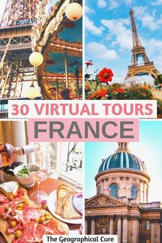 Travel to France Online: the Best DIY Virtual Tours of French Landmarks 360 Virtual Tour, Virtual Travel, Virtual Reality, Luxembourg Gardens, Virtual Field Trips, Tours France, France Travel, Paris Travel, Nightlife Travel
