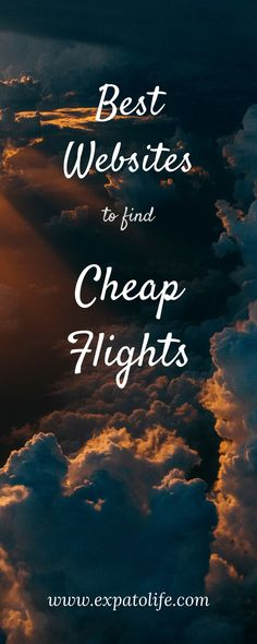 Flying is one of the most convenient ways to travel. In this article, I will reveal the best websites to find cheap flights! Paris Travel Tips, Ways To Travel, Packing Tips For Travel, Travel Advice, Europe Packing, Packing Lists, Travel Articles, Travel Info, Travel Stuff