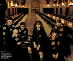 Harry Potter Vanity Fair photo shoot by Annie Liebovitz.