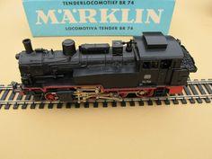 Marklin Steam Locomotive 3095 BR 74 HO Scale Train 1960's 70's Original Box | eBay
