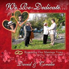 We renewed our wedding vows on September 27th, 2008. It was to celebrate  our transition   after in going through some difficult passages in 2006. Thankfully, we got it right and feel grateful for the blessings we enjoy within the bonds of our sacred partnership.