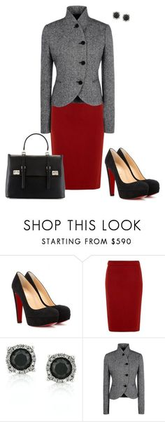 a03290ec450 Untitled  483 by angela-vitello ❤ liked on Polyvore featuring Christian  Louboutin