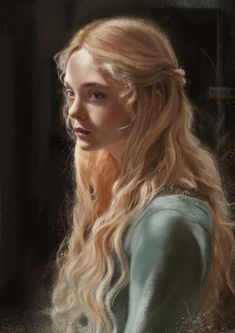 44 Ideas Painting Portrait Photography Girls For 2019 Princess Aesthetic, Aesthetic Girl, Blonde Aesthetic, Portrait Inspiration, Character Inspiration, Looks Party, Actrices Sexy, Hair Reference, Elle Fanning