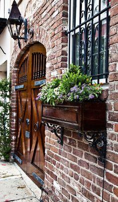 ***Garage Door and Window Box, Charleston, SC