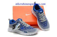 Nike Free 6.0 Womens Grey Royal Running Shoes