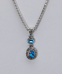 Gorgeous Sapphire Necklace from Best Silver